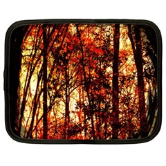 Forest Trees Abstract Netbook Case (XXL)