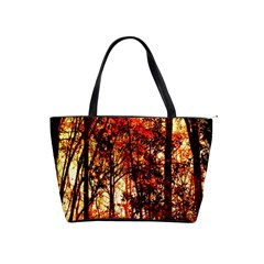 Forest Trees Abstract Shoulder Handbags