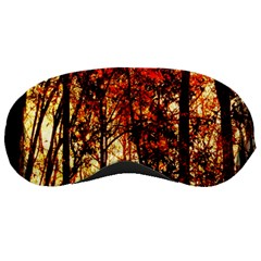 Forest Trees Abstract Sleeping Masks