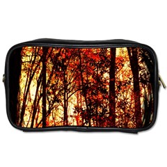 Forest Trees Abstract Toiletries Bags