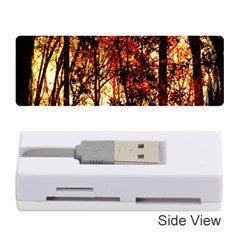 Forest Trees Abstract Memory Card Reader (stick)