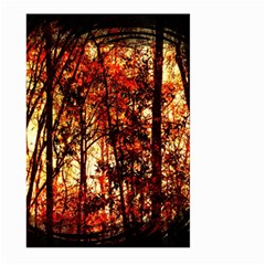 Forest Trees Abstract Large Garden Flag (two Sides)