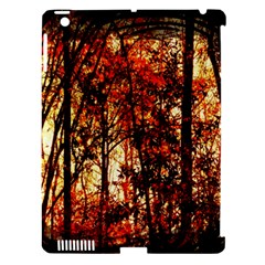 Forest Trees Abstract Apple Ipad 3/4 Hardshell Case (compatible With Smart Cover)