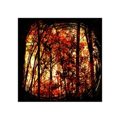 Forest Trees Abstract Acrylic Tangram Puzzle (4  x 4 )