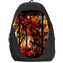Forest Trees Abstract Backpack Bag