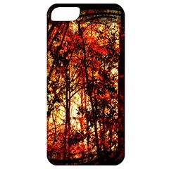 Forest Trees Abstract Apple Iphone 5 Classic Hardshell Case