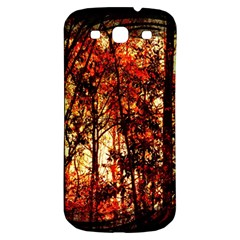 Forest Trees Abstract Samsung Galaxy S3 S III Classic Hardshell Back Case
