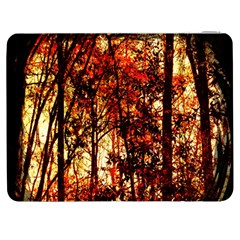 Forest Trees Abstract Samsung Galaxy Tab 7  P1000 Flip Case