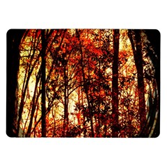 Forest Trees Abstract Samsung Galaxy Tab 10 1  P7500 Flip Case