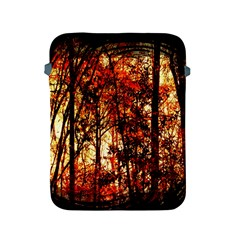 Forest Trees Abstract Apple iPad 2/3/4 Protective Soft Cases