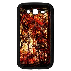 Forest Trees Abstract Samsung Galaxy Grand Duos I9082 Case (black)