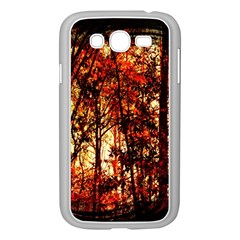 Forest Trees Abstract Samsung Galaxy Grand Duos I9082 Case (white)