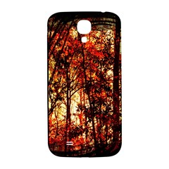 Forest Trees Abstract Samsung Galaxy S4 I9500/i9505  Hardshell Back Case