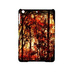 Forest Trees Abstract iPad Mini 2 Hardshell Cases