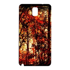 Forest Trees Abstract Samsung Galaxy Note 3 N9005 Hardshell Back Case