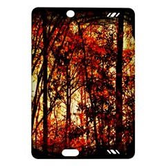 Forest Trees Abstract Amazon Kindle Fire Hd (2013) Hardshell Case