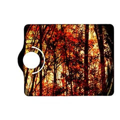 Forest Trees Abstract Kindle Fire Hd (2013) Flip 360 Case