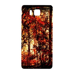 Forest Trees Abstract Samsung Galaxy Alpha Hardshell Back Case