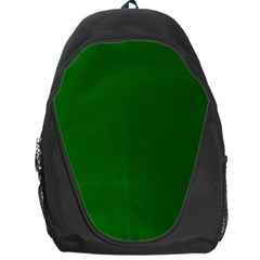 Dark Plain Green Backpack Bag