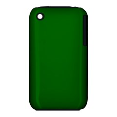 Dark Plain Green Iphone 3s/3gs