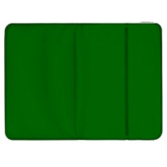 Dark Plain Green Samsung Galaxy Tab 7  P1000 Flip Case