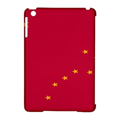 Alaska Star Red Yellow Apple iPad Mini Hardshell Case (Compatible with Smart Cover)