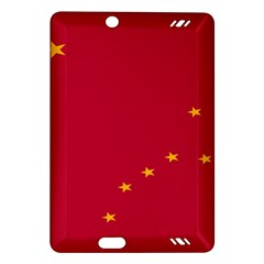 Alaska Star Red Yellow Amazon Kindle Fire HD (2013) Hardshell Case
