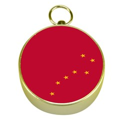 Alaska Star Red Yellow Gold Compasses