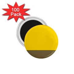 Trolley Yellow Brown Tropical 1.75  Magnets (100 pack)
