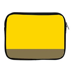 Trolley Yellow Brown Tropical Apple iPad 2/3/4 Zipper Cases