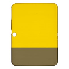 Trolley Yellow Brown Tropical Samsung Galaxy Tab 3 (10.1 ) P5200 Hardshell Case