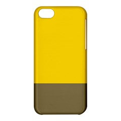 Trolley Yellow Brown Tropical Apple iPhone 5C Hardshell Case