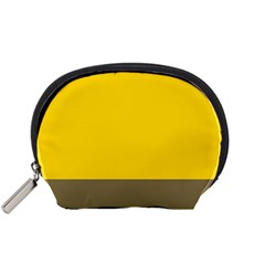 Trolley Yellow Brown Tropical Accessory Pouches (Small)