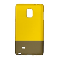 Trolley Yellow Brown Tropical Galaxy Note Edge