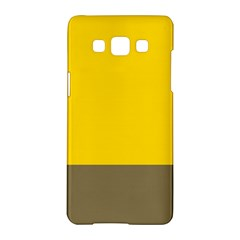 Trolley Yellow Brown Tropical Samsung Galaxy A5 Hardshell Case