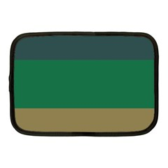 Blue Green Brown Netbook Case (Medium)