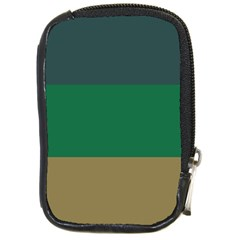 Blue Green Brown Compact Camera Cases