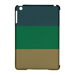 Blue Green Brown Apple iPad Mini Hardshell Case (Compatible with Smart Cover)