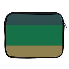 Blue Green Brown Apple iPad 2/3/4 Zipper Cases