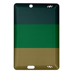 Blue Green Brown Amazon Kindle Fire Hd (2013) Hardshell Case