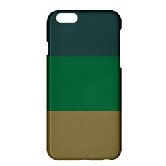 Blue Green Brown Apple iPhone 6 Plus/6S Plus Hardshell Case
