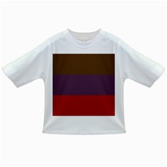 Brown Purple Red Infant/Toddler T-Shirts