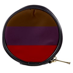 Brown Purple Red Mini Makeup Bags