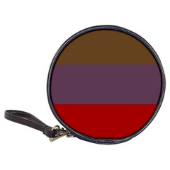 Brown Purple Red Classic 20-CD Wallets
