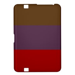 Brown Purple Red Kindle Fire HD 8.9