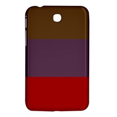 Brown Purple Red Samsung Galaxy Tab 3 (7 ) P3200 Hardshell Case