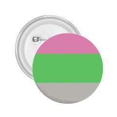 Grey Green Pink 2 25  Buttons