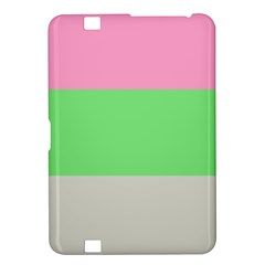 Grey Green Pink Kindle Fire HD 8.9
