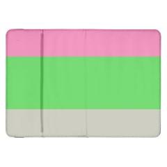 Grey Green Pink Samsung Galaxy Tab 8.9  P7300 Flip Case