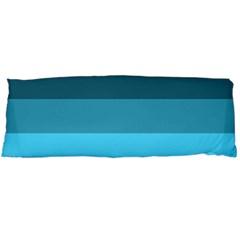 Line Color Black Green Blue White Body Pillow Case (Dakimakura)